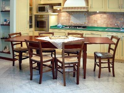 Cucina tavolo cucina allungabile for Produttori tavoli